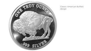 apmex silver rounds   1 oz silver round buffalo rmc