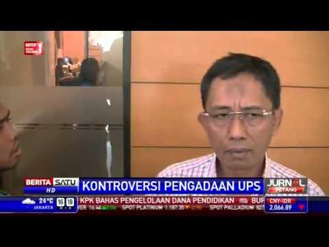 AHOK Vs DPRD DKI - Perusahaan Pengadaan UPS Angkat Bicara