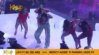 Watch Olamide, Tiwa Savage, Yemi Alade, Kiss Daniel Joins Leg Work Dance Gang