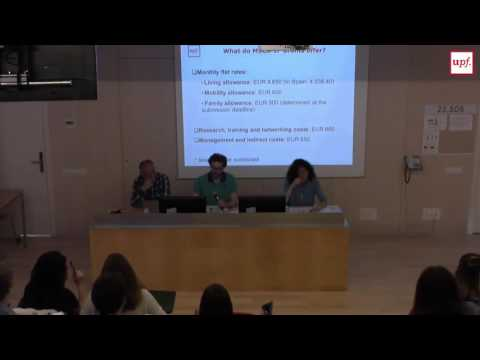 Marie Sklodowska-Curie Actions (Individual Fellowships) information session (I)