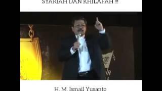 Advice from ust Ismail Yusanto (Jubir Hizbut Tahrir Indonesia)
