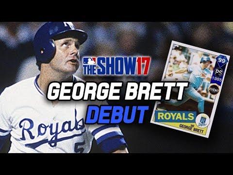 99 GEORGE BRETT DEBUT! AL Collection Reward | MLB The Show 17 Diamond Dynasty Ranked Seasons PS4 Pro