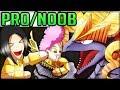 THE GOLDEN WAR - Pro and Noob VS Monster Hunter World Multiplayer! (Kulve Taroth - Easy Horn Break)
