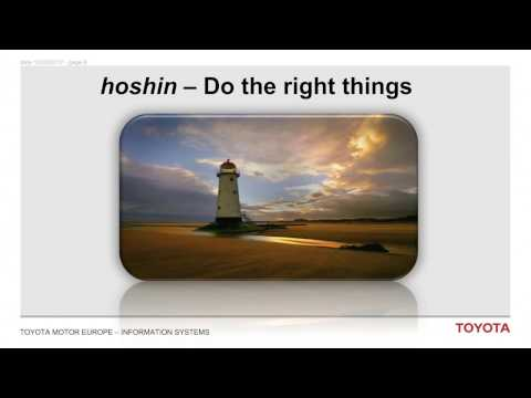 Hoshin for IT and IT for Hoshin, Pierre Masai, CIO Toyota