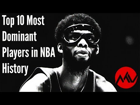 Top 10 Most Dominant Players in NBA History