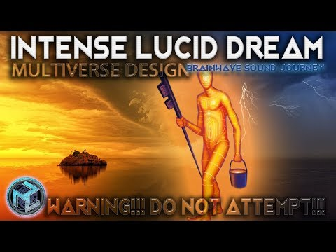 SERIOUSLY INTENSE: MULTIVERSE LUCID DREAM MUSIC| BEST LUCID SLEEP |Binaural Beats Meditation | DREAM