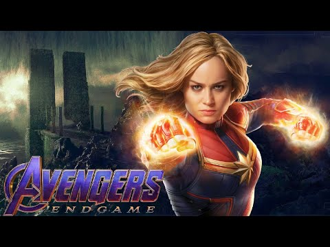 Avengers: Endgame Set Photos Reveal Captain Marvel On Vormir!