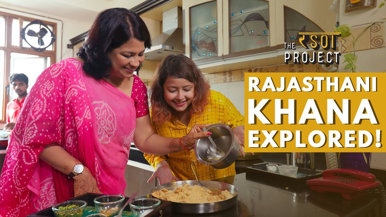 Inspiring Story Of A Home Chef & Her Rajasthani Thali | Best Indian Food | The Rasoi Project #08