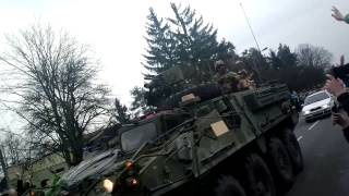 US Army 2nd Calvary Regiment - Dragoon Ride 2015 - Central & Eastern Europe