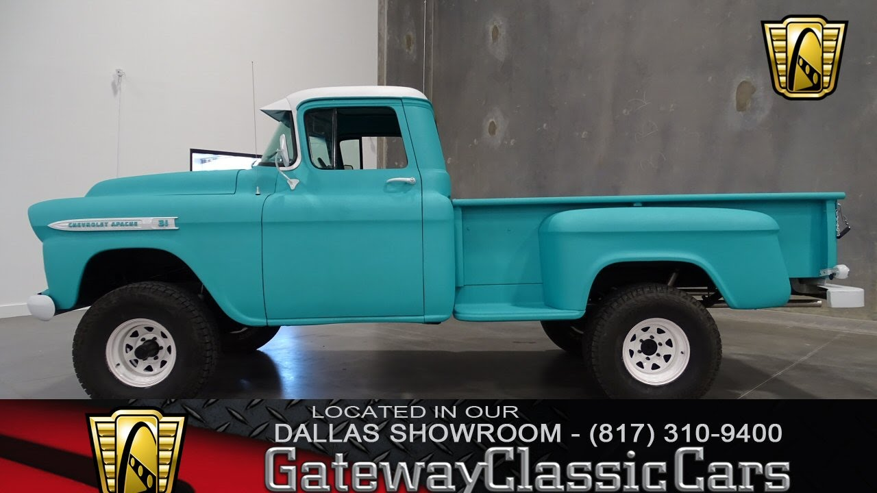 All Chevy chevy apache 4×4 : 1959 Chevrolet Apache 4x4 Stock #71 Gateway Classic Cars of Dallas ...
