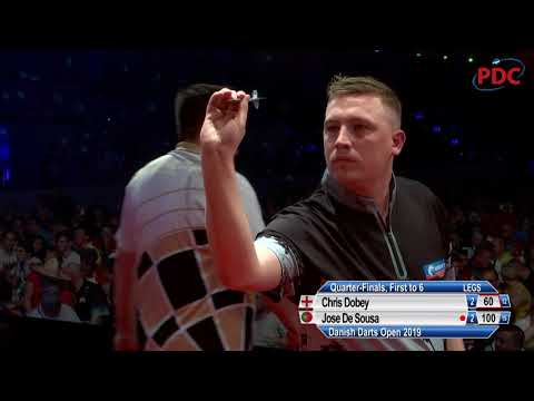 De Sousa v Dobey - Quarter-Final - 2019 Danish Darts Open