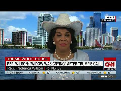 Download Youtube: Rep. Wilson: Trump didn't know slain soldier's name