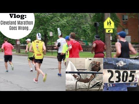 Vlog Part 2: I go visit Jerard in Cleveland| Marathon goes wrong