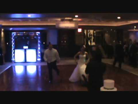 The best bride and groom entrance EVER.wmv