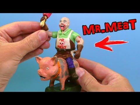 ЛЕПИМ МИСТЕРА МИТА и его СВИНЬЮ из игры Mr. Meat