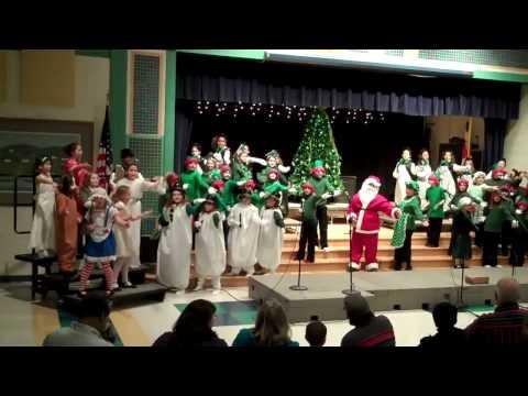 Williamsport Elementary School Holiday Play Merry Xmas 12/17