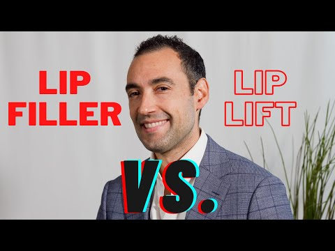 Lip Filler or a Lip Lift? A plastic surgeon explains which procedure maybe better for you