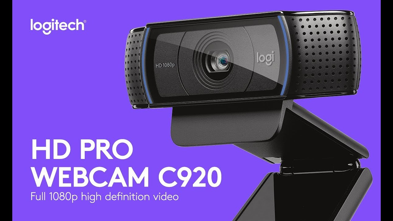 Logitech C920 Setup Logitech Webcam Software Download Youtube