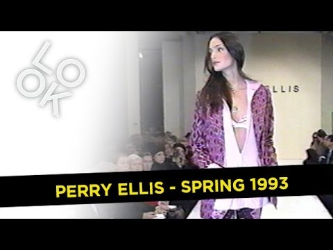 Perry Ellis Spring 1993: Fashion Flashback