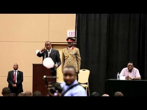 President Uhuru's visit to Dallas, Texas on 8-8-14