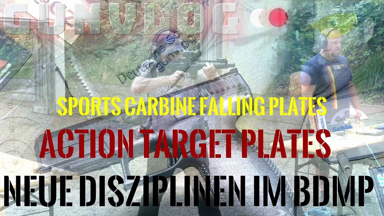 Download BDMP Action Target Plates und Sports Carbine Falling Plates