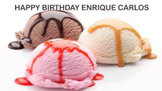 EnriqueCarlos   Ice Cream & Helados y Nieves - Happy Birthday