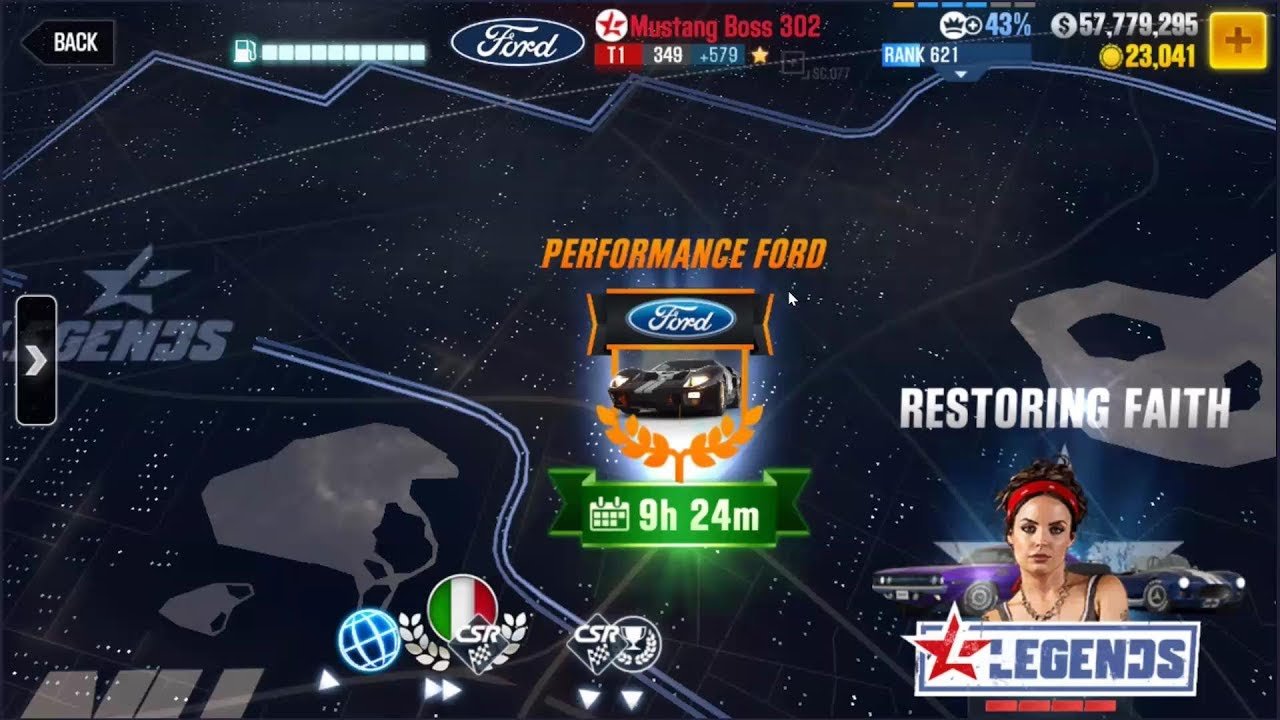 CSR2 Performance Ford event quick overview