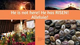 April 4, 2021 Easter Online Worship