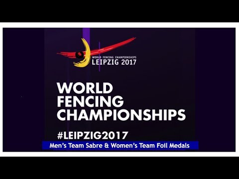 World Fencing Championships Leipzig Day04 Team Competition - Finals