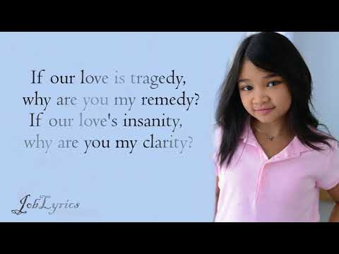 Clarity[Lyrics] - By Angelica Hale - Americas Got Talent 2017