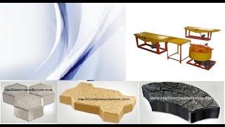 rubber moulds pavement machinery