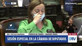 Diputada Moreau, Cecilia - Sesión Especial 1-09-2020 - OT