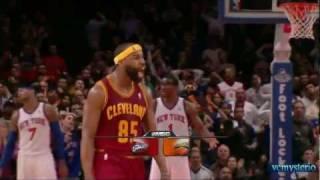 Baron Davis 18pts vs. Knicks (03.04.2011)- First Cavs debut + Last 10sec big shot