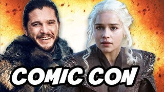 Game Of Thrones Season 7 Comic Con Promo and Episode Schedule Breakdown