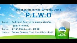 Panel Interaktywnej Wymiany Opinii wyd. 9 - Park(ing). Pomysły na skwery, zieleńce i parki w Rybniku
