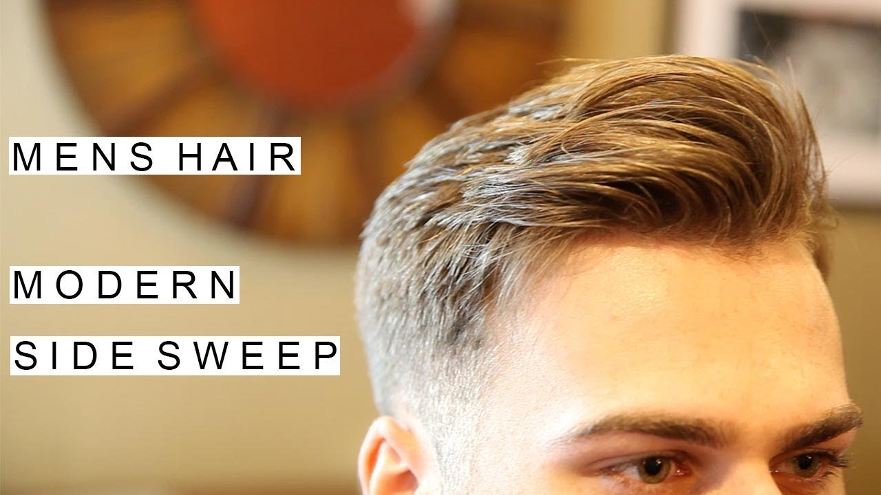 modern side sweep hairstyle | best men's hairstyles | short hair for men