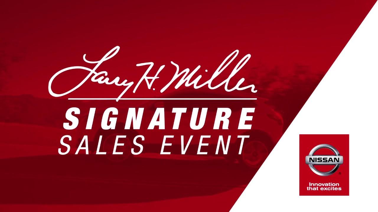 Signature Sales Event | Larry H. Miller Nissan Highlands Ranch