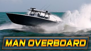 MAN GOES OVERBOARD AT HAULOVER INLET! | Boats vs Haulover Inlet