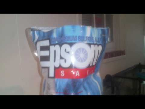 How I Add Epsom Salt