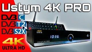 уже в продаже uClan Ustym 4K PRO обзор DVB- S/S2/S2X -T/T2/ -C комбо ресивера