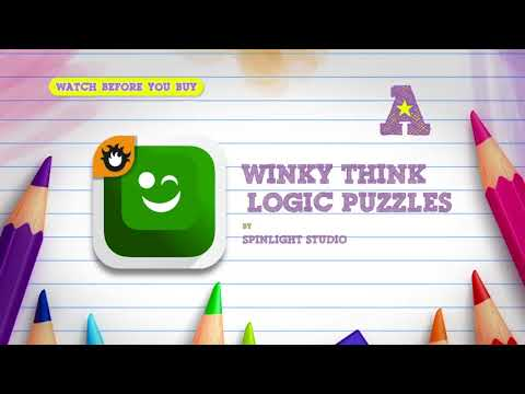 Winky Think Logic Puzzles on the App Store