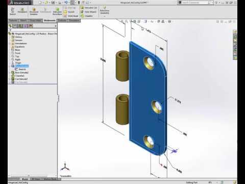 SolidWorks - Part Configurations