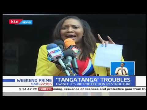 Security officers attached to 'Tangatanga MPs' withdrawn