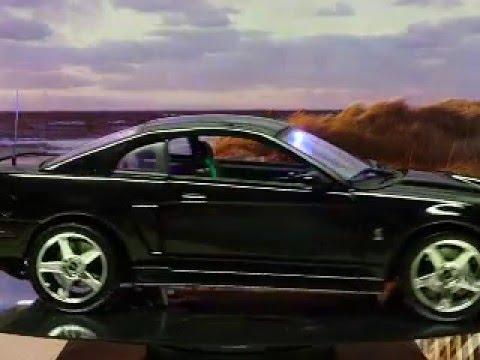 Custom Maisto 2003 Ford Mustang Svt Cobra Police Interceptor With