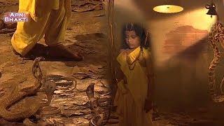 धोखे से विष्णु भक्त प्रहलाद को सर्प कुंड में बंद किया - Vishnu Bhakt Prahlad - Apni Bhakti