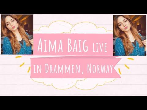 Aima Baig Live In NORWAY 😍 Item Number (Teefa in Trouble), Tareefan, Sammi Meri Waar (Coke Studio)