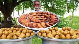 Potato Nuggets Recipe  | Quick and Easy Potato Nuggets - Fingers | Tasty Potato Snacks by Grandpa