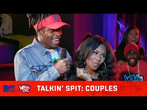 This Couple Avoids Spitting At All Costs! 💦 | Wild N Out | #TalkinSpit