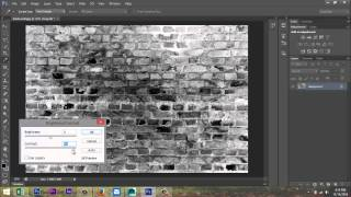 Create a simple Bump map in Photoshop for use in Maya by Mike Hermes