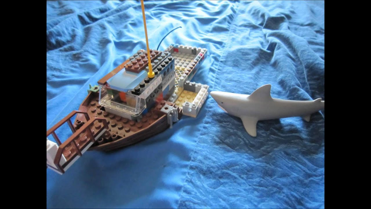 Lego Jaws by Max - Funny! - YouTube